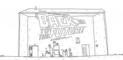 Ritorno al futuro, in un minuto