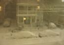 30 ore di tempesta di neve in un minuto