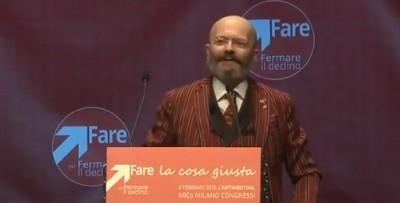 L'attacco di Oscar Giannino al rettore di Catania, candidato montiano