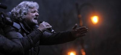 La paranoia di Beppe Grillo