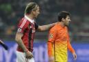 Milan-Barcellona 2-0