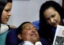 Le prime foto di Chávez dopo l'operazione