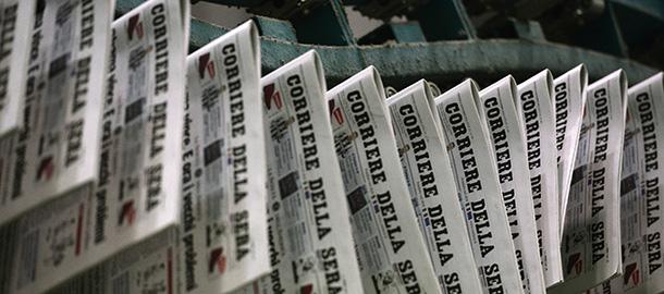 Come stanno i giornali italiani il post for Giornali arredamento casa