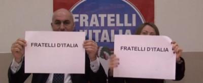 """Il video di scuse di Crosetto e Meloni per lo spot omofobo di due candidati veneti di """"Fratelli d'Italia"""""""
