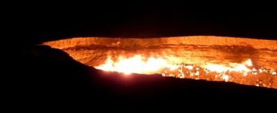 """Le """"Porte dell'Inferno"""" in Turkmenistan"""
