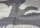 La pubblicità di <em>Game of Thrones</em> sul <em>New York Times</em>