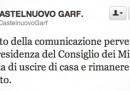 L'allerta terremoto in Garfagnana