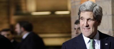 John Kerry a Roma