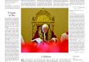 La prima pagina dell'Osservatore Romano di domani