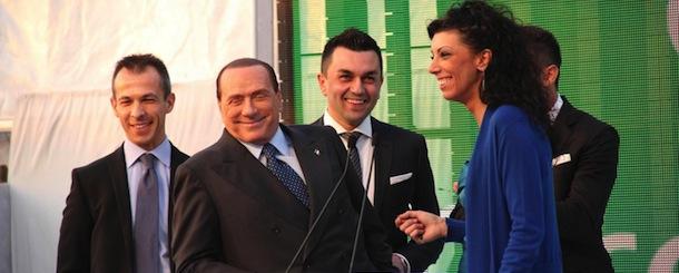 Silvio Berlusconi dal Gruppo Green Power a Mirano