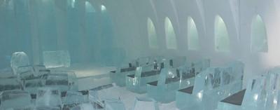 Come costruire un hotel di ghiaccio