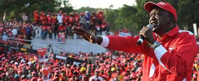 Il nuovo presidente del Kenya