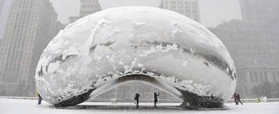 La neve a Chicago
