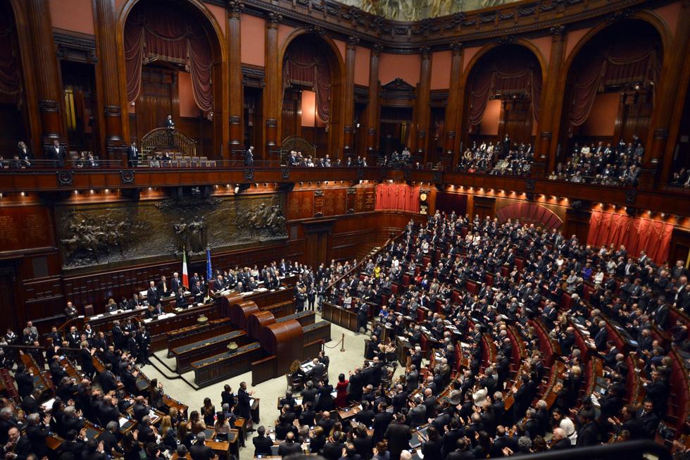 Le foto del nuovo parlamento il post for Tv camera deputati