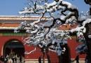 La neve a Pechino