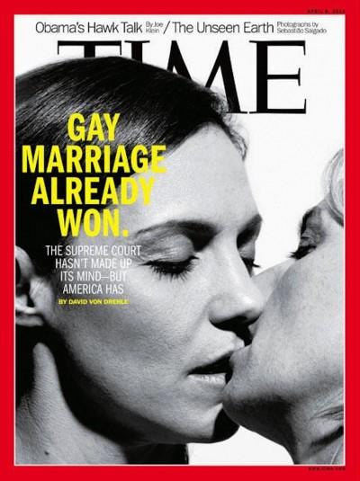 Le copertine di Time sui matrimoni gay - Il Post