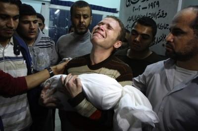 La storia della foto simbolo della guerra a Gaza