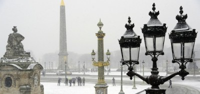 La neve in mezza Europa