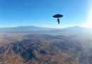 Skydiving con l'ombrello