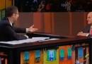 Pier Luigi Bersani a Che tempo che fa