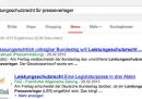 Google e la legge tedesca sul copyright