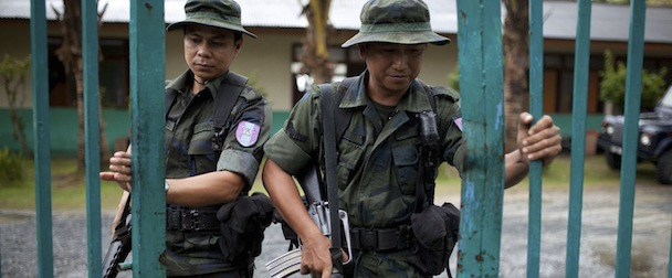 MALAYSIA-PHILIPPINES-CRIME-SECURITY-GUNMEN