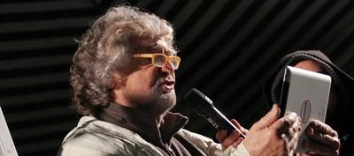 Grillo e il mito del suo uso di Internet