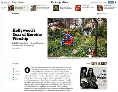 Nuovo sito New York Times