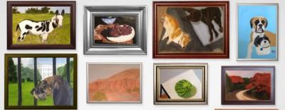 I quadri di George W. Bush