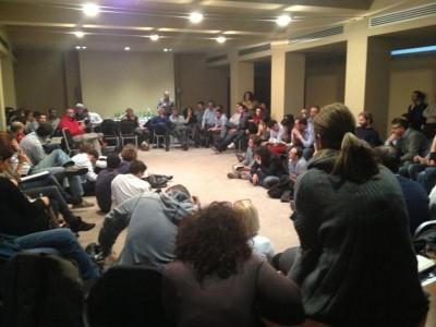 Roma, incontro parlamentari grillini