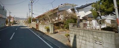 La città deserta dopo Fukushima