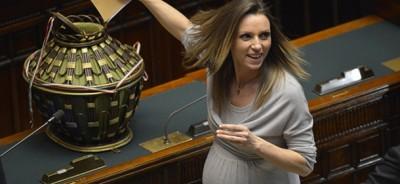 Il primo giorno del nuovo Parlamento