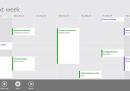 Calendario - Windows 8