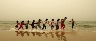 7 foto della tempesta di sabbia a Gaza
