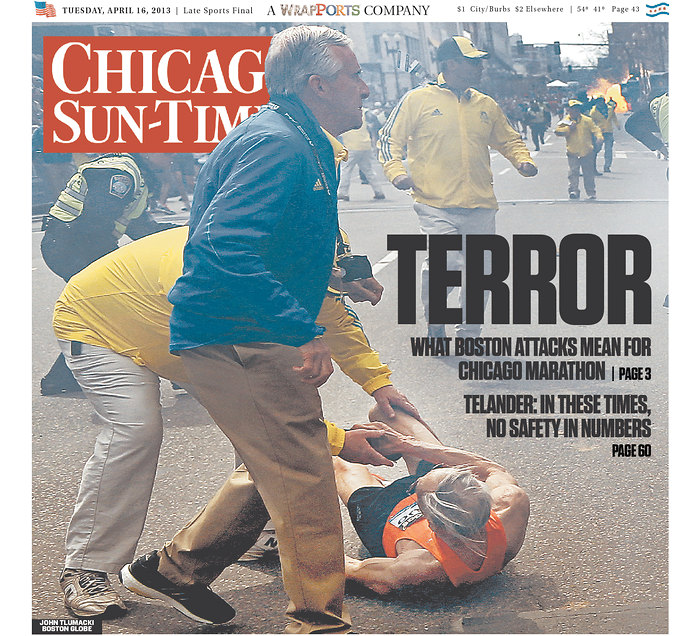Le prime pagine americane su Boston - Il Post