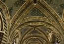 Le foto da sotto le volte del duomo di Siena