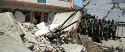 Il terremoto in Cina