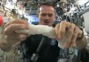 Strizzare i panni nello spazio