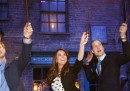 William, Kate e Harry negli studi Warner