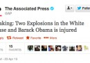 Il falso tweet su Obama di Associated Press