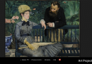 Il Conservatorio - Édouard Manet