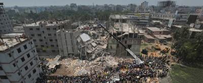 Tutte le storie del crollo a Dacca