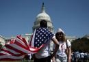 Le foto del corteo per gli immigrati a Washington