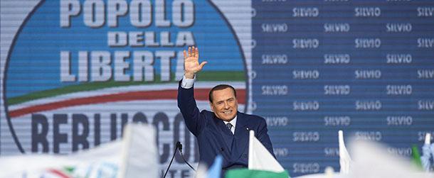 """PdL - Manifestazione """"Tutti con Silvio"""""""