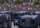 Le proteste di Madrid