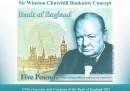 La nuova banconota da 5£ con Churchill