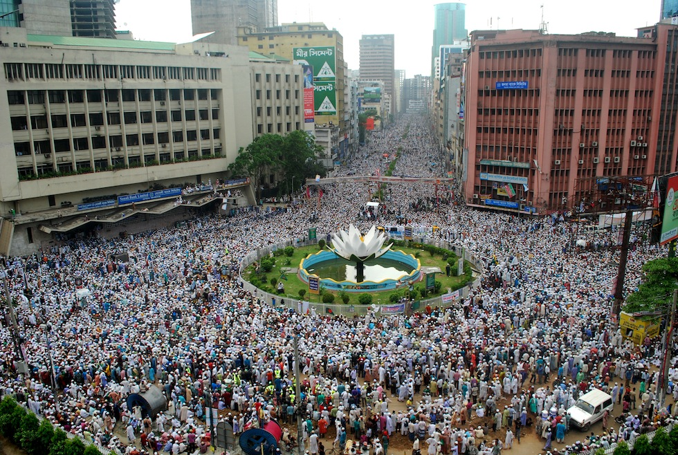 """satellite television and dhaka city Bangladesh television  located at rampura in dhaka bangladesh television broadcasts 18-hour program terrestrially and 24-hour through its satellite partner """"btv ."""
