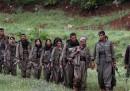 I primi ribelli curdi arrivati in Iraq