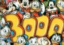 La copertina del numero 3000 di Topolino