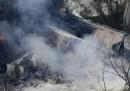 Esplosione treno a Baltimora, Maryland